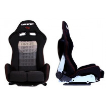Sport, verseny ülés LOW MAX K608 Fekete Szürke